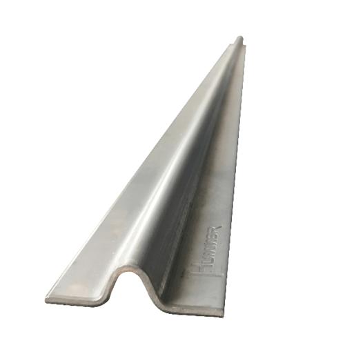 HUMMER รางประตูรั้วสำเร็จรูปร่องกลม สเตนเลส 304 (หนา2.6มม.) ยาว 300 ซม LGBXG026