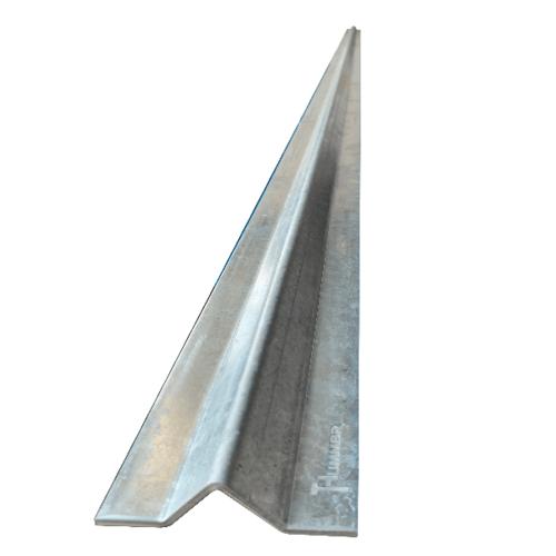 รางประตูรั้วสำเร็จรูปร่องฉาก เหล็กกัลวาไนซ์ (หนา3.5มม) ยาว 300 ซม.   LGSJ035
