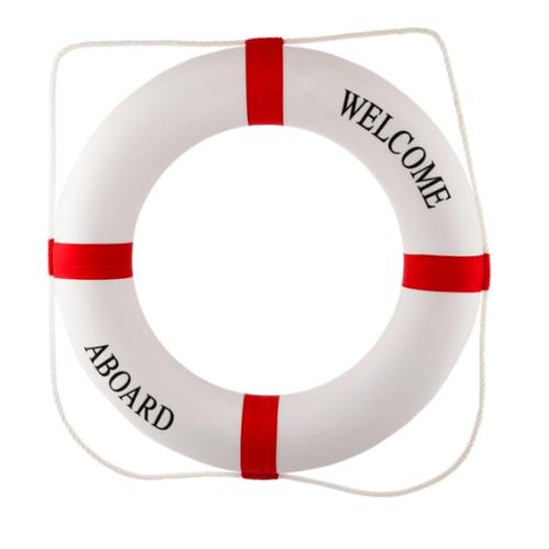 Protx ห่วงยางชูชีพ (รับน้ำหน้ก 20-30 กก.)  SL013-2030 สีขาว-แดง