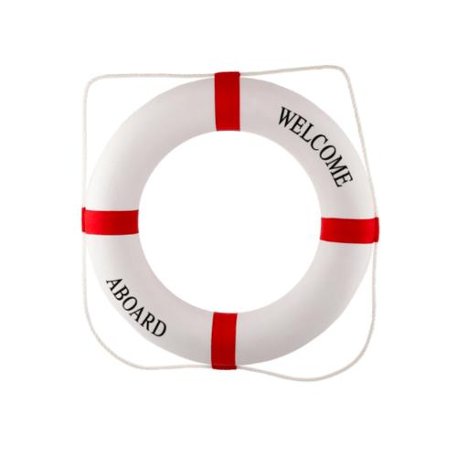 Protx ห่วงยางชูชีพ (รับน้ำหน้ก70-90กก.)    SL015-7090  สีขาว-แดง