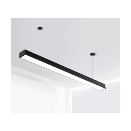 SYLLA โคมไฟแขวนเพดาน LED 6500K  7575-36W สีดำ