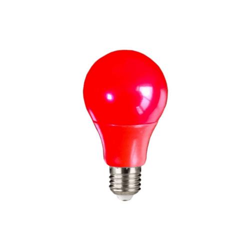 EILON หลอดแอลอีดีบัล์บ 5W  วอร์มไวท์  BL-A60-SBL002  สีแดง