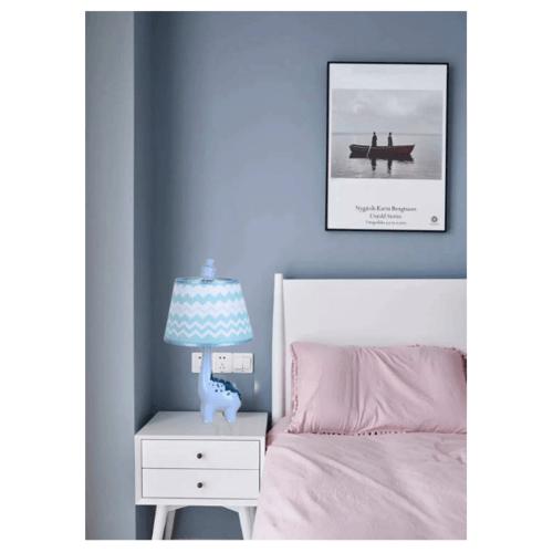EILON โคมไฟตั้งโต๊ะแฟนซี  MT4090 สีฟ้า