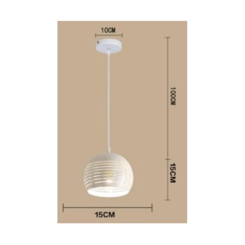 EILON โคมไฟแขวนโมเดิร์น  ZS-009-3หัว สีขาว
