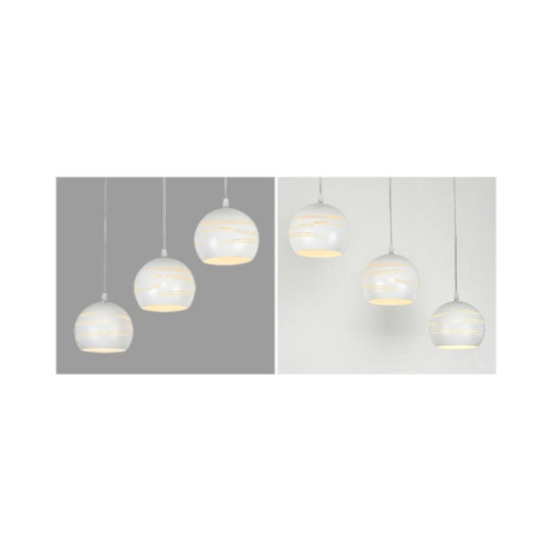 EILON โคมไฟแขวนโมเดิร์น  ZS-022-3หัว  สีขาว