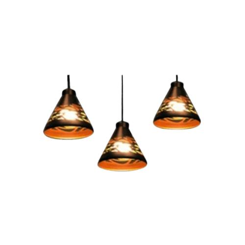 EILON โคมไฟแขวนโมเดิร์น  ZS-032-3หัว สีดำ