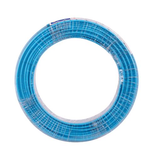 BCC  สายไฟ 60227  IEC 01 (THW) 6 LB (C) 450/750V  สีฟ้า