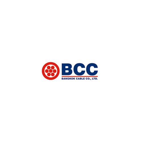 BCC สายไฟฟ้า 50 BK (C500) 750V THW-A
