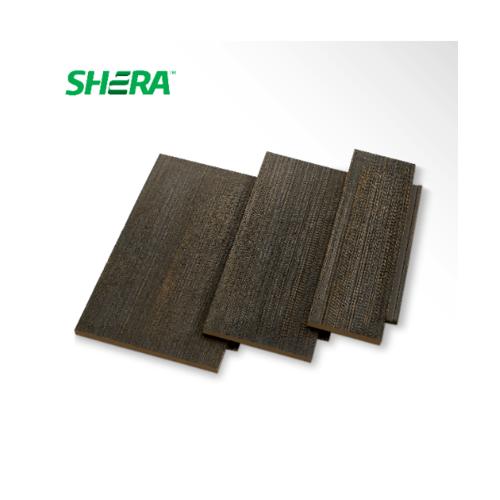 SHERA เฌอร่า ซีดาร์เชค สีแบล็คเวงเก้ คละขนาด โชว์โครง  -
