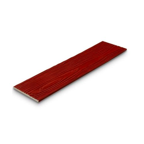 SHERA ไม้ฝาเฌอร่า 0.8x15x300ซม. สีแดงเชอร์รี่ ลายสัก