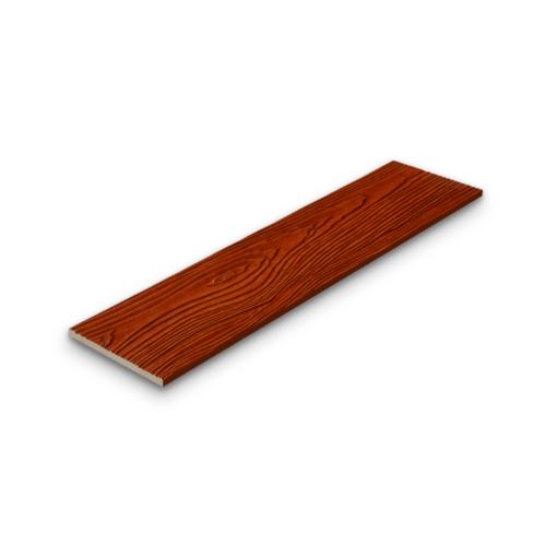 SHERA ไม้ฝาเฌอร่า 0.8x20x400ซม. สีสักทรายทอง ลายสัก