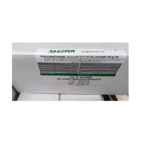 SHERA กาวยาแนว  พียู25(600มล.)