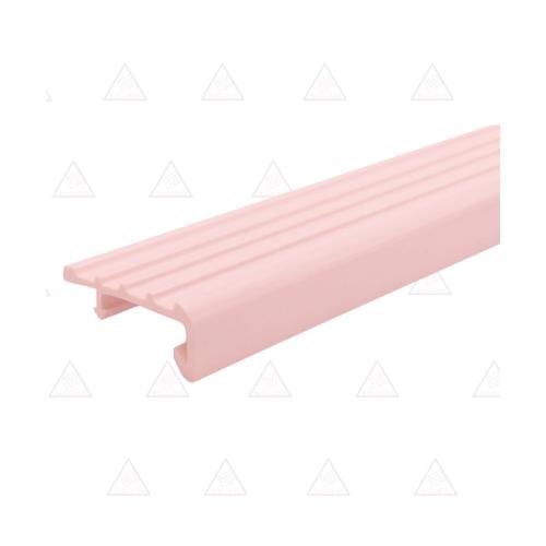 Success จมูกบันได PVCขนาด 2.0M L38SS สีชมพู