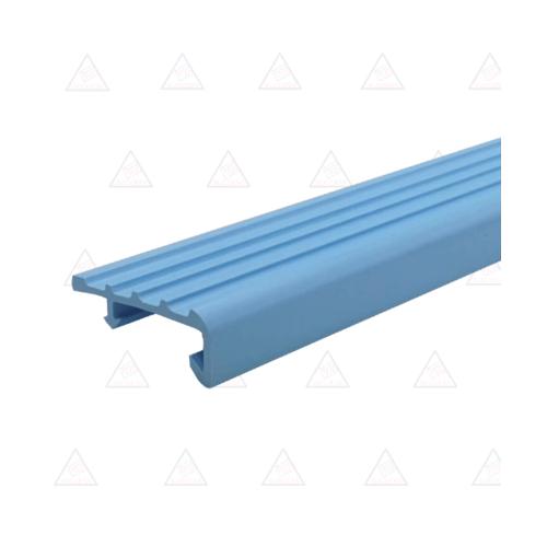 Success จมูกบันได PVC  ขนาด 2.0M L38SS  A. สีฟ้า