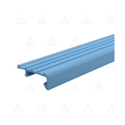 Success จมูกบันได PVC ขนาด 2.5M  L38SS สีฟ้า