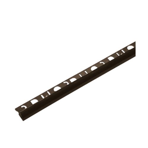 MAC คิ้วกระเบื้อง PVC  SUPER UV (8mm) M20 สีน้ำตาลเข้ม