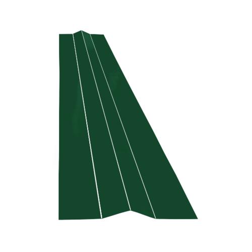 ตอง111 สังกะสีแผ่นหลบ  - สีเขียว