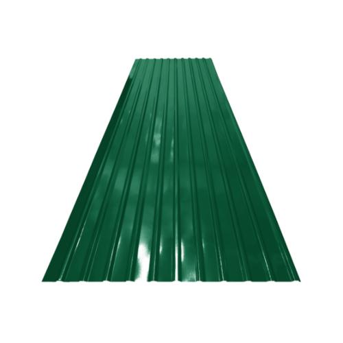 ตอง111 สังกะสี  ลอนเหลี่ยมสี 8 ฟุต  ลอนเหลี่ยมสี สีเขียว