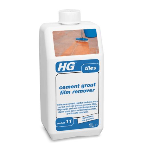 HG  เอ็กซ์ตร้า (น้ำยาขจัดคราบซีเมนต์,ยาแนว,สนิม สำหรับพื้นกระเบื้อง)  1L