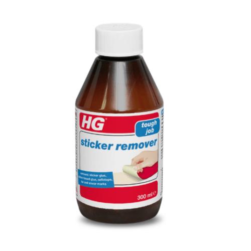 HG สติ๊กเกอร์ รีมูฟเวอร์ (ใช้ลอกสติ๊กเกอร์ ขจัดคราบกาว คราบยางมะตอย)  300ml.