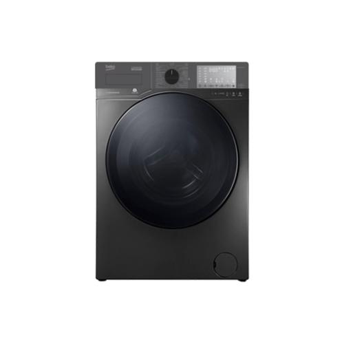 BEKO เครื่องซักผ้าฝาหน้า 10 กก. Inverter  WCV10749XMST สีเทาแมนฮัตตัน