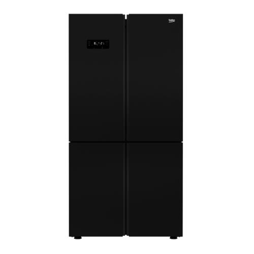 BEKO ตู้เย็น 4 ประตู ขนาด 18.7 คิว  GN1416233DZJGT สีดำ