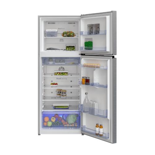 BEKO  ตู้เย็น 2 ประตู 13.3 คิว  RDNT401I50VS  สีซิลเวอร์