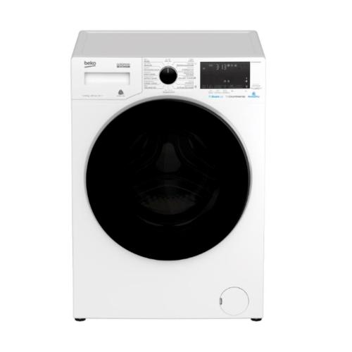 BEKO เครื่องซักผ้าฝาหน้า 10 กก.  WCV10649XWST  สีขาว