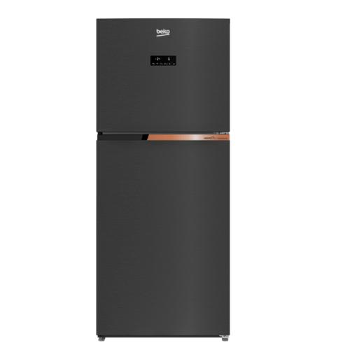 BEKO ตู้เย็น 2 ประตู 12 คิว  RDNT371E50VK สี Dark Inox