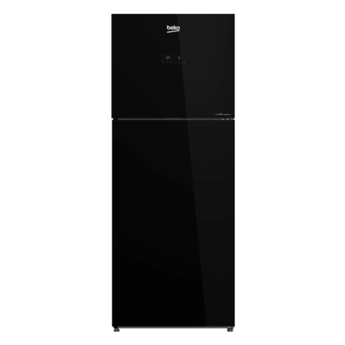BEKO  ตู้เย็น 2 ประตู 12.0 คิว  กระจกดำ  RDNT371E50VZGB สีดำ