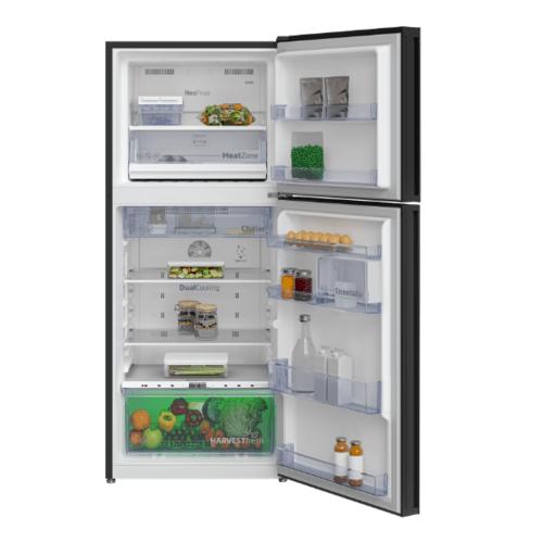 BEKO  ตู้เย็น 2 ประตู 12.0 คิว  กระจกดำ  RDNT371E50VZGB