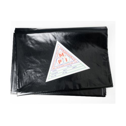 MPI พลาสติกปูบ่อ พีวีซี  3x4ม. สีดำ