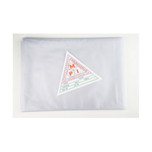 MPI พลาสติกปูบ่อ พีวีซี  3x4เมตร สีขาวขุ่น