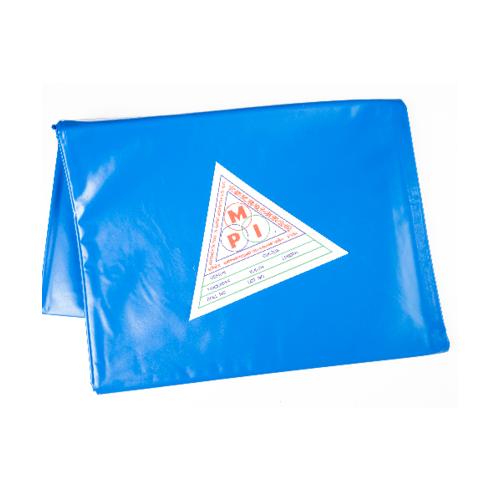 MPI พลาสติกปูบ่อ พีวีซี 3x4ม. สีน้ำเงิน