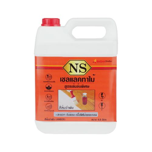 NORTHERNSHELLAC เชลแลคทาไม้ NS สูตรเข้มข้นพิเศษ สีส้ม