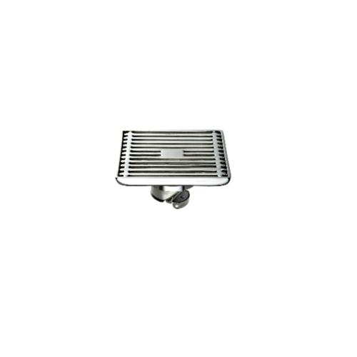 KARAT FAUCET ตะแกรงกันกลิ่นแบบเหลี่ยมสแตนเลส 304   ท่อ PVC ขนาด 2-2.5 นิ้ว หน้าแปลน 4 นิ้ว  KA-49-832-WT