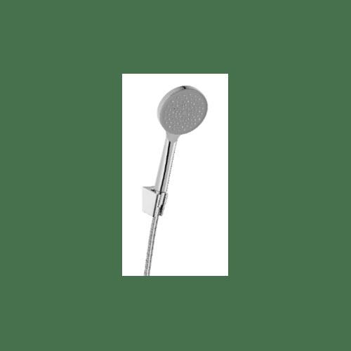 KARAT FAUCET ฝักบัวสายอ่อนปรับน้ำ 1 ระดับ พร้อมสายสแตนเลส 304 KS-44-231-50 โครเมี่ยม