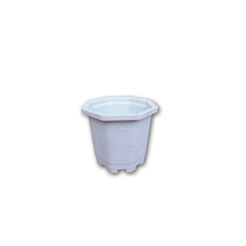 GREENHOUSE กระถางแคคตัส 3 นิ้ว สีขาว หนาพิเศษ