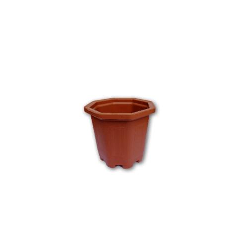 GREENHOUSE กระถางแคคตัส 3 นิ้ว สีอิฐ 051912255787