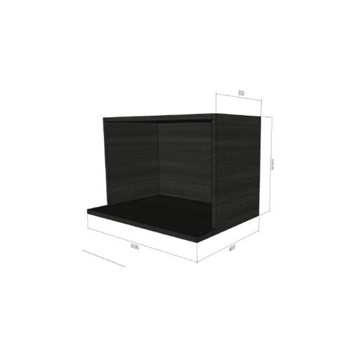 LAVAREDO ตู้แขวนไมโครเวฟ สั่งพิเศษ  H400 x W600 xD400mm.   สี LW106-Foresta Teak