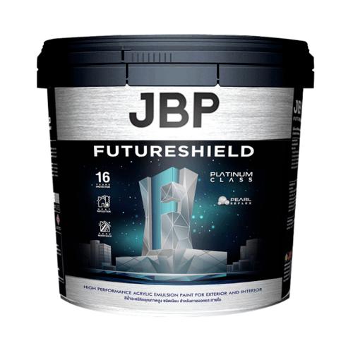 JBP น้ำทาภายนอก   2.5GL FUTURESHIELD SH BS C สีขาว