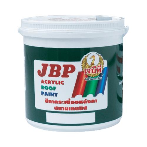 JBP สีทากระเบื้องหลังคา  #9924 สีเทานกพิราบ