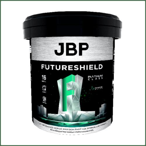 JBP สีน้ำทาภายนอก FUTURESHIELD SG BASE B 2.5GL สีขาว