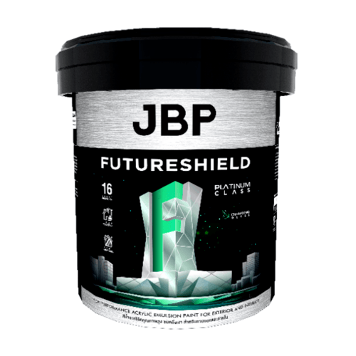 JBP สีน้ำทาภายนอก FUTURESHIELD SG BASE D 2.5GL สีขาว