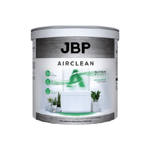 JBP สีน้ำอะครีลิค เจบีพี Airclean สำหรับภายใน (ชนิดกึ่งเงา) Base  C JBP Airclean SG Base  C 2.5 GL