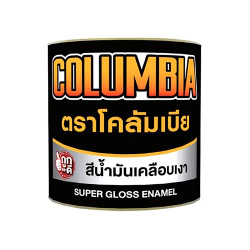 JBP สีน้ำมัน โคลัมเบีย 1 GL   #2323  สีน้ำตาลเข้ม