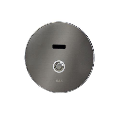 R&T ฟลัชวาล์วอัตโนมัติโถปัสสวะชายชนิดฝังผนังพร้อมปุ่มกด LED  D32001