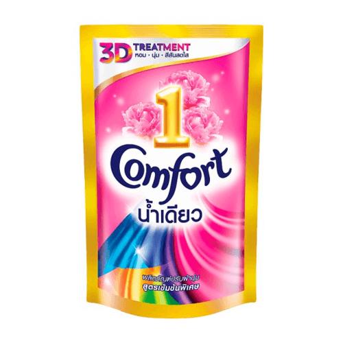unilever คอมฟอร์ทอัลตร้า  12X580มล น้ำเดียว 580 มล.  สีชมพู