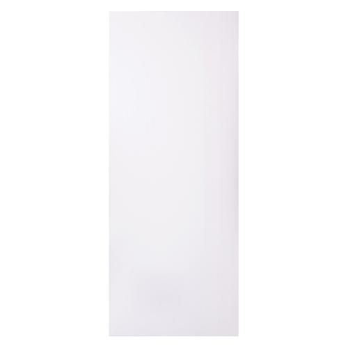 BWOOD  ประตู VINYL ขนาด 80x200 บานทึบ ผิวเรียบ ไม่เจาะ Eco series สีขาว