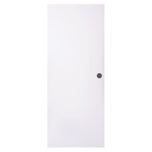 BWOOD  ประตู VINYL ขนาด 90x200 บานทึบ ผิวเรียบ เจาะ  Eco series สีขาว